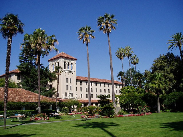 Santa Clara University's employee health insurance will stop covering 'elective' abortions next year unless state officials change their minds. (Michael Zimmer/Flickr)