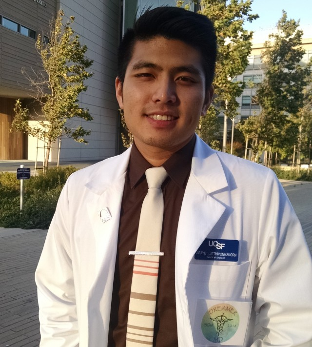UCSF's First Undocumented Medical Student Begins Training