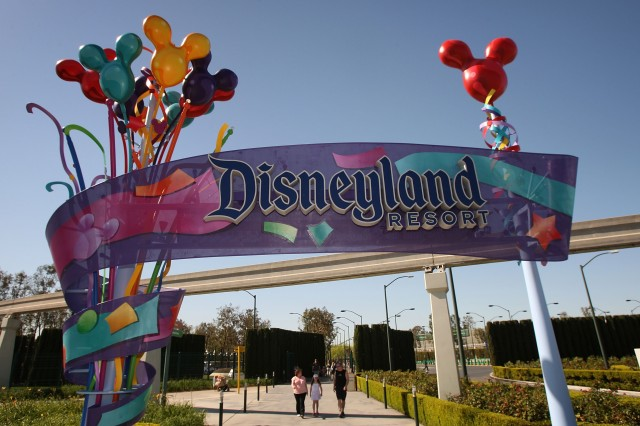 Five Disney staff members are among California's cases. (David McNew/Getty Images)