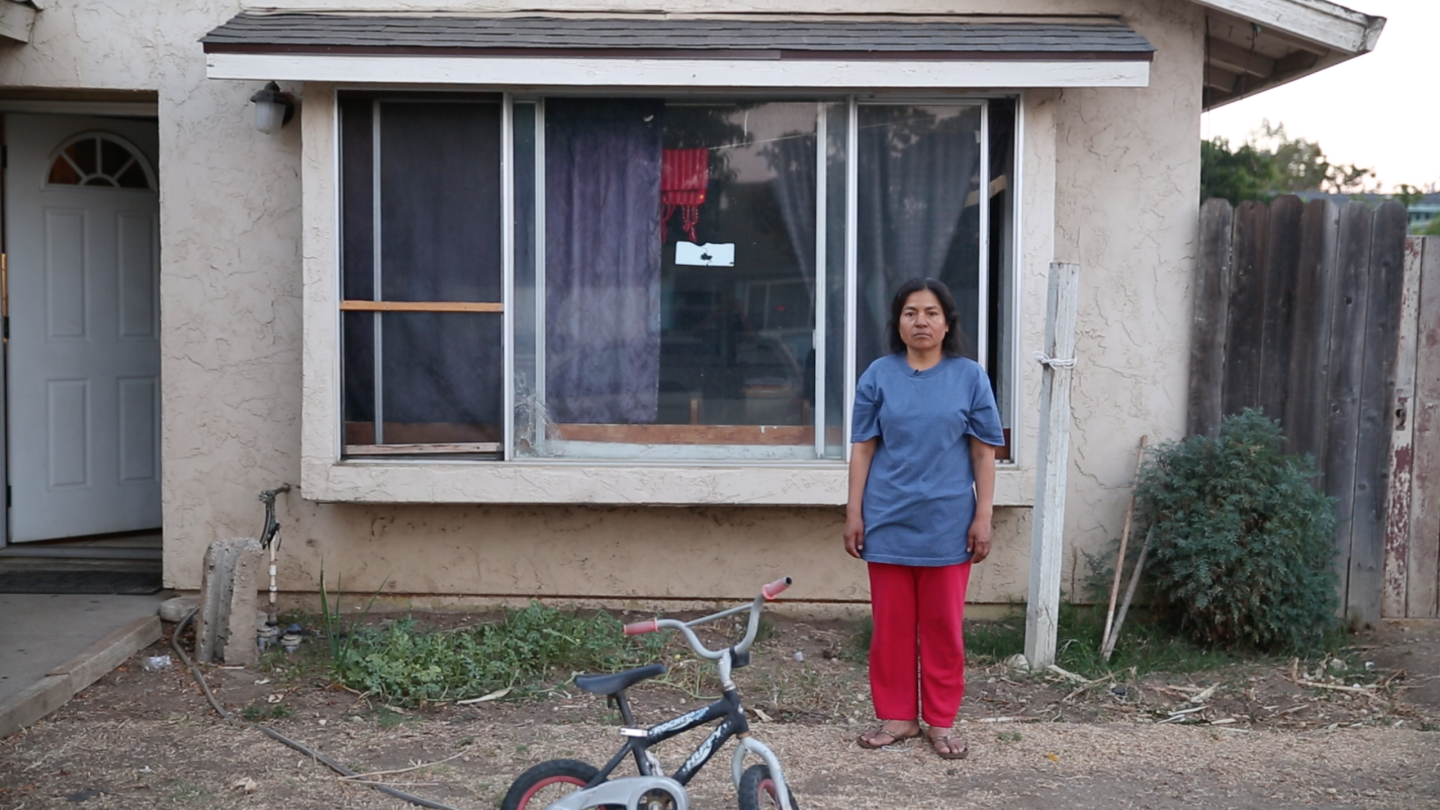 When Angelina Diaz-Ramirez, an immigrant farmworker from Mexico, suffered a heart attack, no one at the hospital could explain what was happening to her. She speaks Triqui, an indigenous language in southern Mexico. Jeremy Raff/KQED