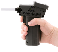 This prototype of a marijuana breath testerwas developed by Vancouver, British Columbia-based Cannabix Technologies