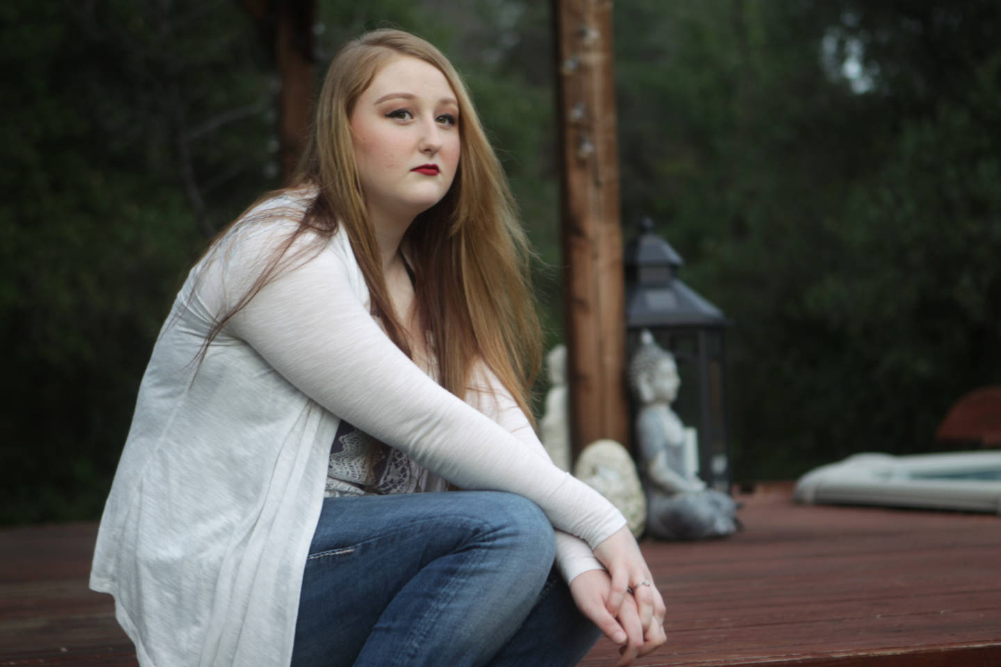 Shariah Vroman-Nagy, 18, attempted suicide three years ago.  Andreas Fuhrmann/KQED