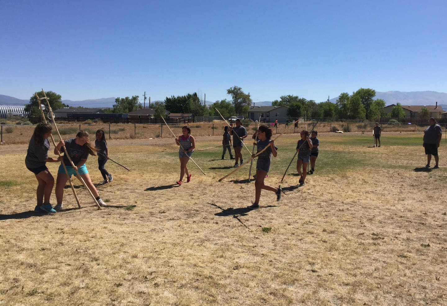 A New Generation Competes in Traditional Games to Preserve Washoe Culture