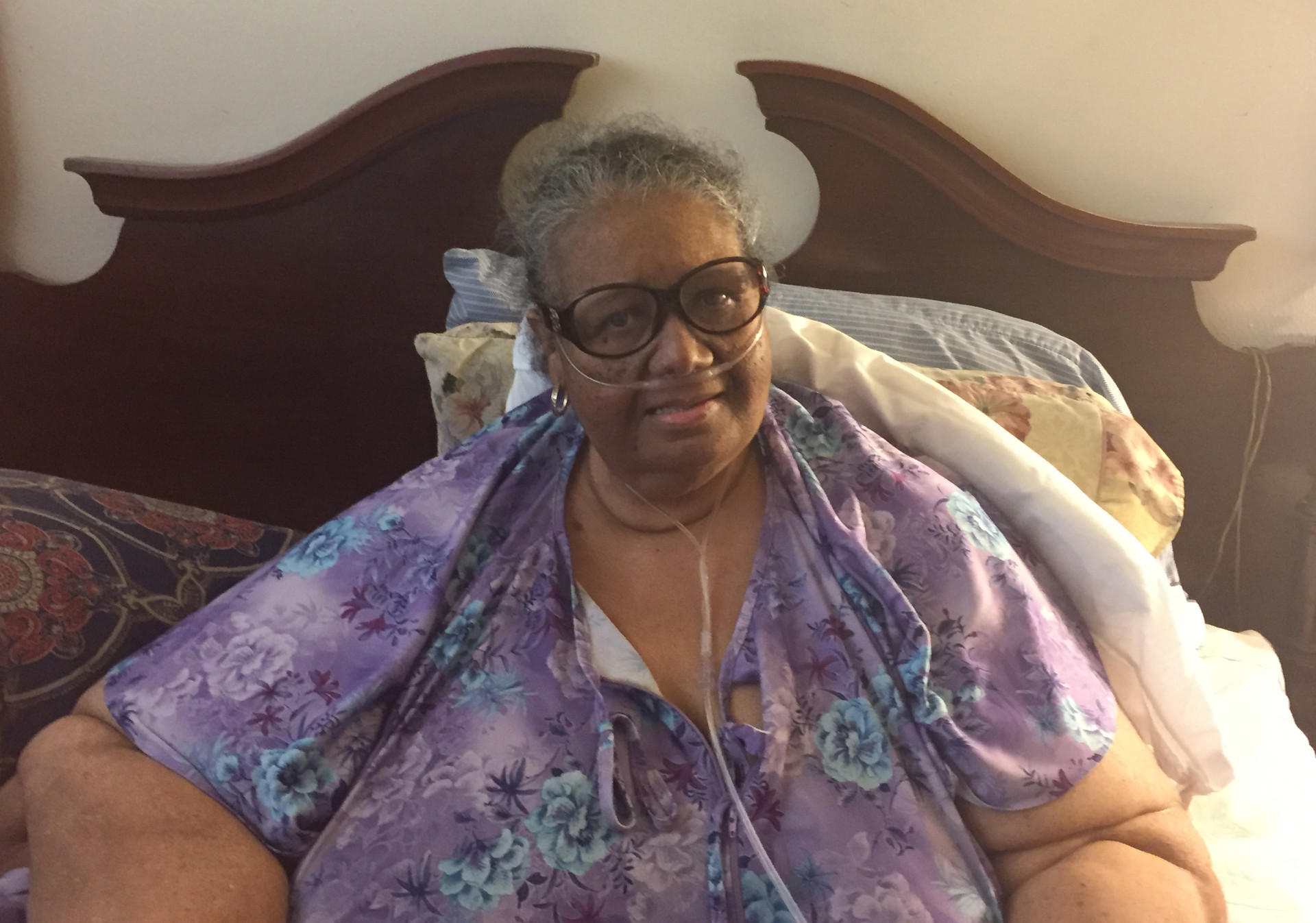 Connie Fuller lives alone in North Oakland. Staff at the Alameda County Care Alliance stop in to check on her and connect her to essential resources, much like a family member would.