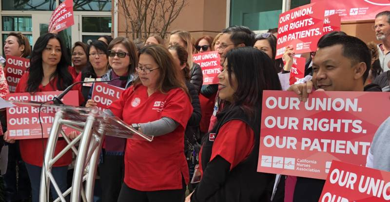 California Nurses Warn That Losing Supreme Court Case Could Gut Unions