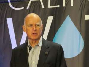Governor Jerry Brown told the state's water managers a fix for the Delta is on the way.  (Craig Miller/KQED)