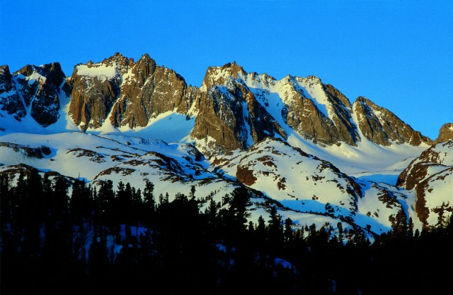 The North Palisade Glacier, in the southern Sierra Nevada. (Tim Palmer/Heyday)