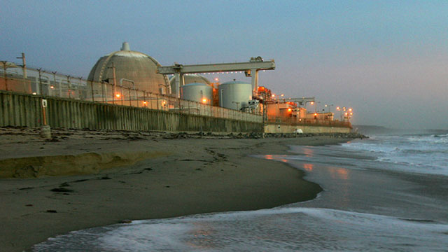 The San Onofre nuclear power plant has been shut down since 2012.  (Photo by David McNew/Getty Images)