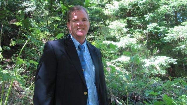 Tom Klatt, environmental projects manager for UC Berkeley. (Molly Samuel/KQED)