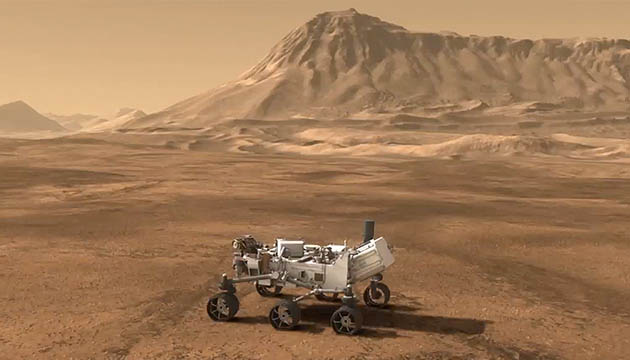 NASA's Curiosity Rover and Mount Sharp