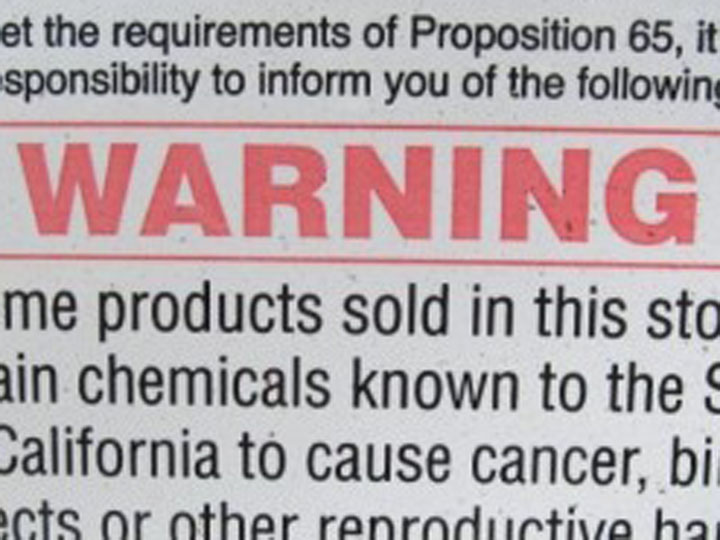 Who Profits from Proposition 65? (Part Two)