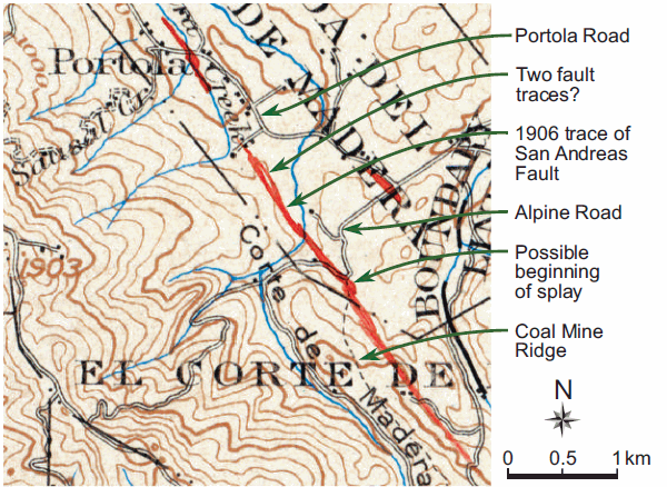 Branner's 1906 map