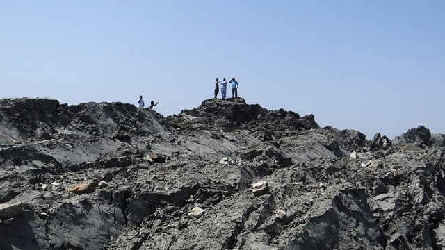 Pakistan mud volcano