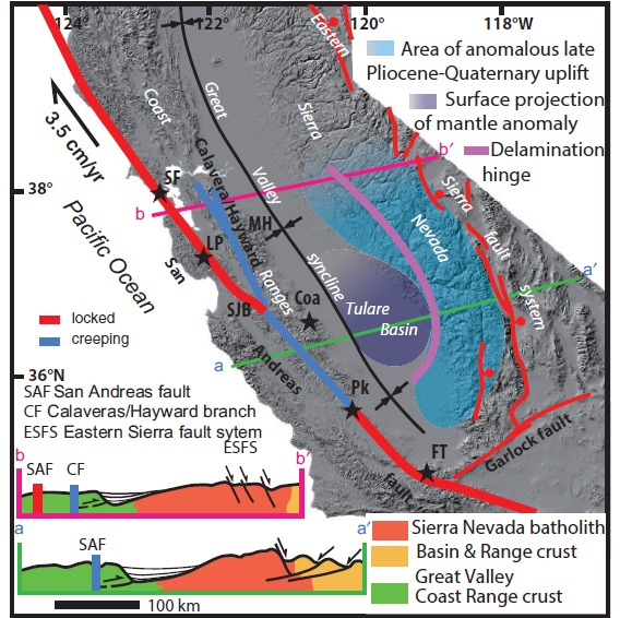 the san andreas fault and its Aerial view of the san andreas fault  this is the case for the san andreas, which runs along the boundary of the pacific and north american plates.