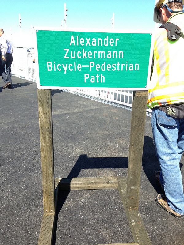 Alexander Zuckermann sign