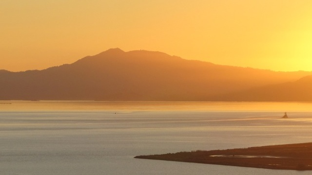 Late-summer sunset over San Francisco Bay. (Craig Miller)