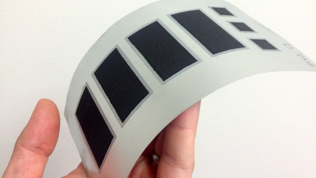 Bay Area battery start-up Imprint Energy is developing flexible, thin batteries. (Photo: Imprint Energy)