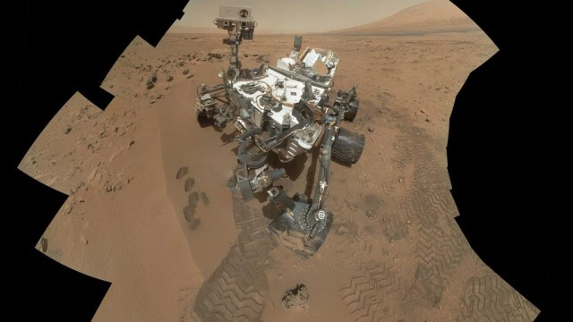A self-portrait of NASA's Mars Curiosity rover. (Image: NASA/JPL-Caltech/MSSS)