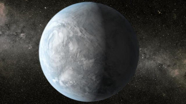 Kepler 62e is an exoplanet about 1,200 light years from Earth, in the constellation Lyra. (NASA)