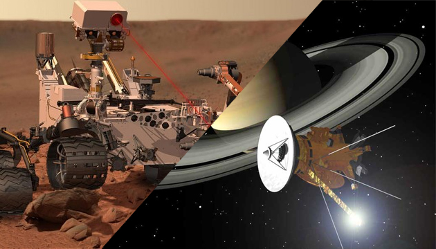 Curiosity Versus Cassini