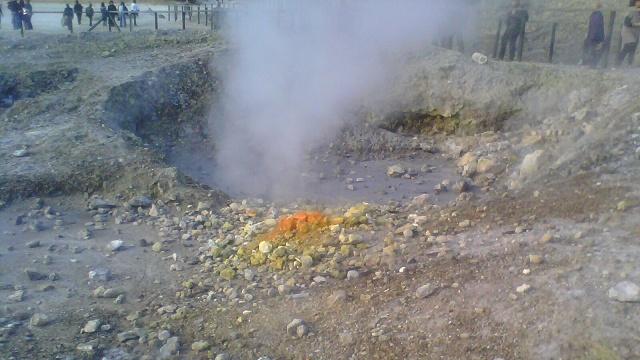 volcanic mudpot