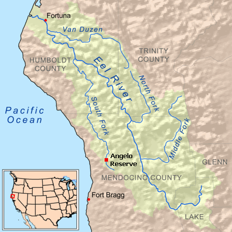 Eel River watershed