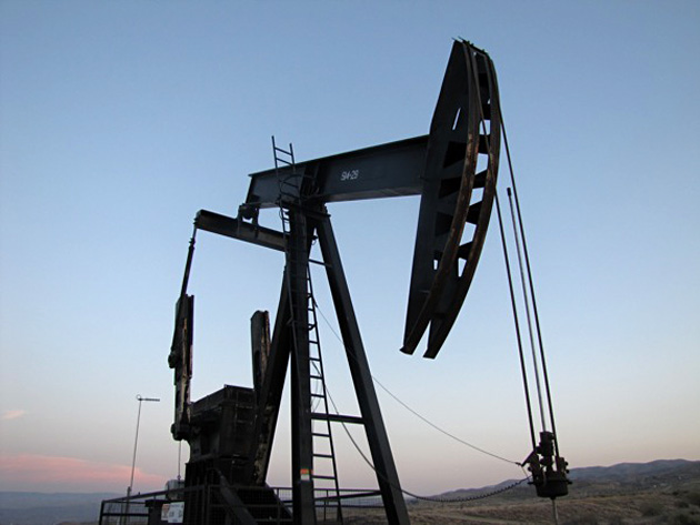 Just over 2,000 wells have been fracked in California, according to industry data. (Craig Miller/KQED)