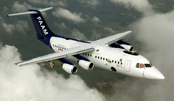 BAe-146; photo courtesy FAAM