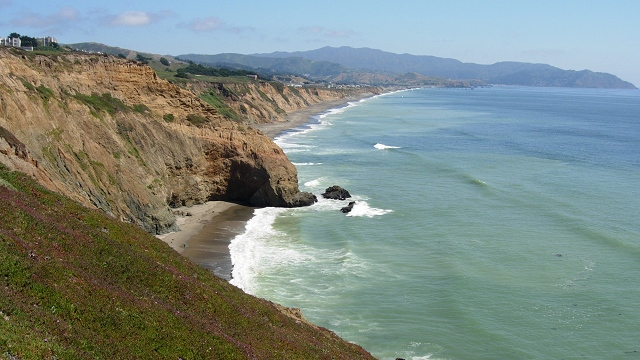 California coastal bluffs