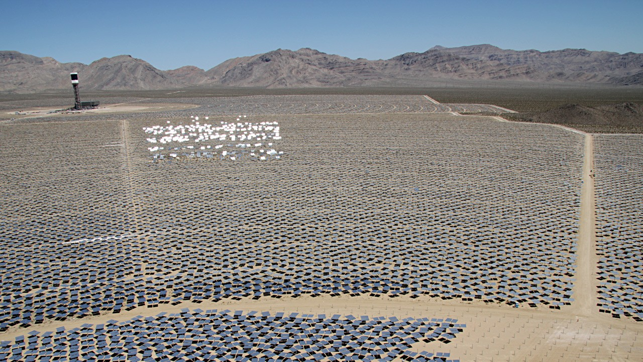 World S Largest Solar Plant Opens Kqed Science