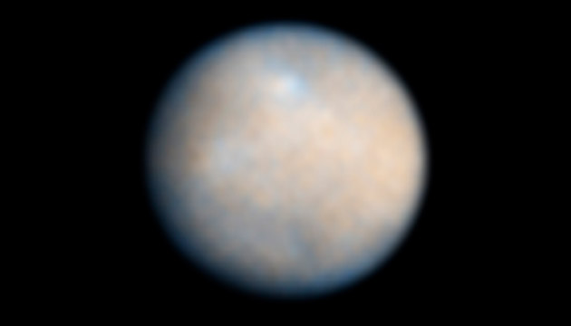 Hubble Space Telescope image of Dwarf Planet Ceres. Credit: NASA/Hubble Space Telescope