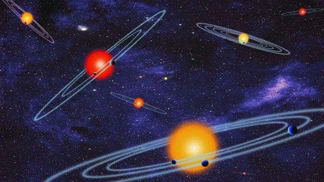 NASA has discovered hundreds of planets that orbit stars in solar systems similar to ours. (NASA)
