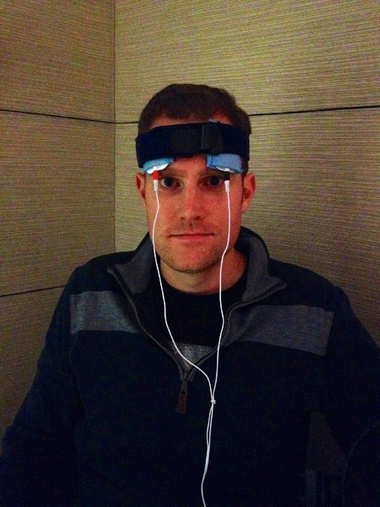 Jared Seehafer built a tDCS machine for about $100.