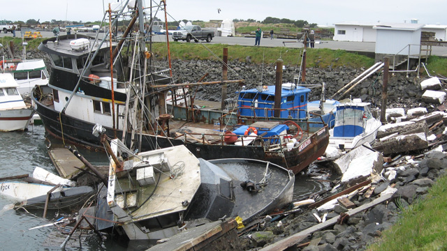 Three Years After Disaster, Crescent City Sports a New 'Tsunami-Resistant' Harbor