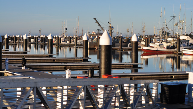 Three years after a tsunami destroyed it, Crescent City's Harbor is completely rebuilt. (Ernest Perry)