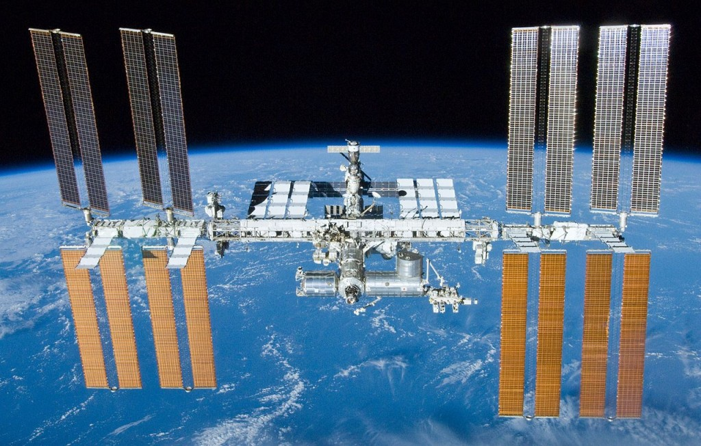 The International Space Station. (NASA)