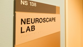 UCSF's Neuroscape Lab was produced in partnership with several high tech companies. (Josh Cassidy/KQED)