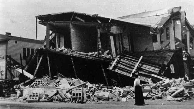 The 1906 earthquake (USGS)