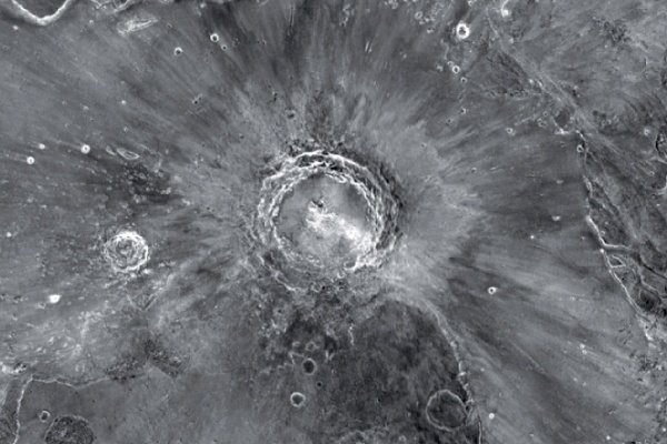 Mojave crater, Mars