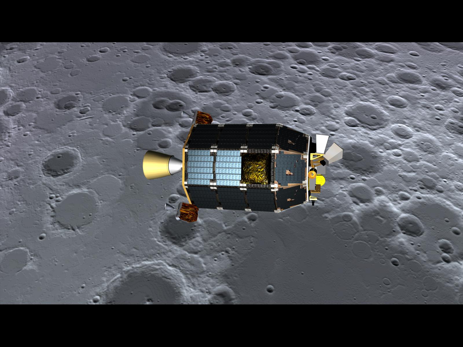 NASA's LADEE Spacecraft Set to Crash Land on the Moon