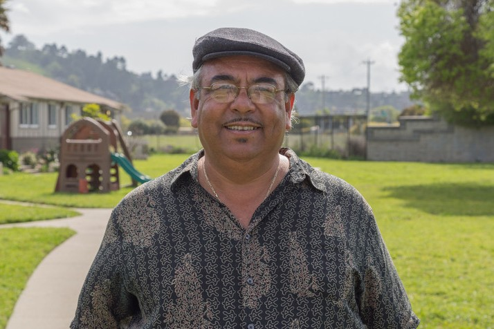 Andrés Soto is the Richmond organizer with Communities for a Better Environment. (Josh Cassidy/KQED)