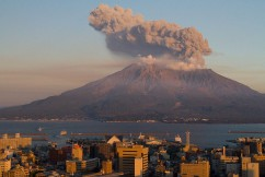 Sakurajima, one of the most active volcanoes in the world
