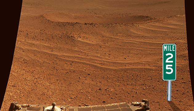 NASA's Opportunity Rolls a Record Distance on Mars