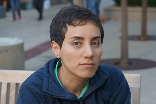 Stanford mathematician Maryam Mirzakhani is the first woman to win the Fields Medal. (Courtesy of Maryam Mirzakhani)