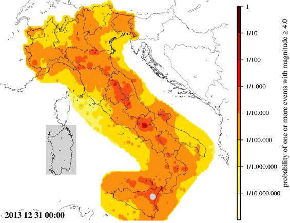 Italy quake forecast