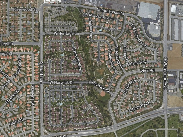 Fault-zone park in Loma Linda