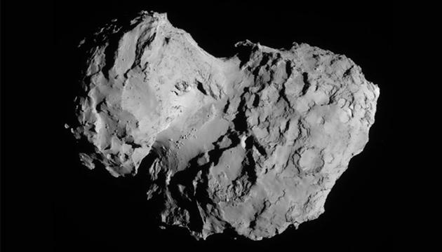 Comet 67p/Churyumov-Gerasimenko. (Rosetta/ESA)