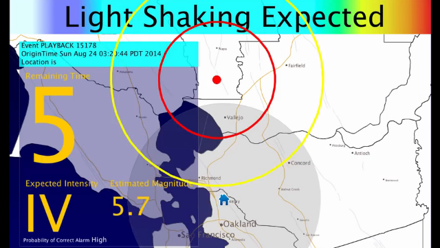 california s earthquake early warning system is ready to get started
