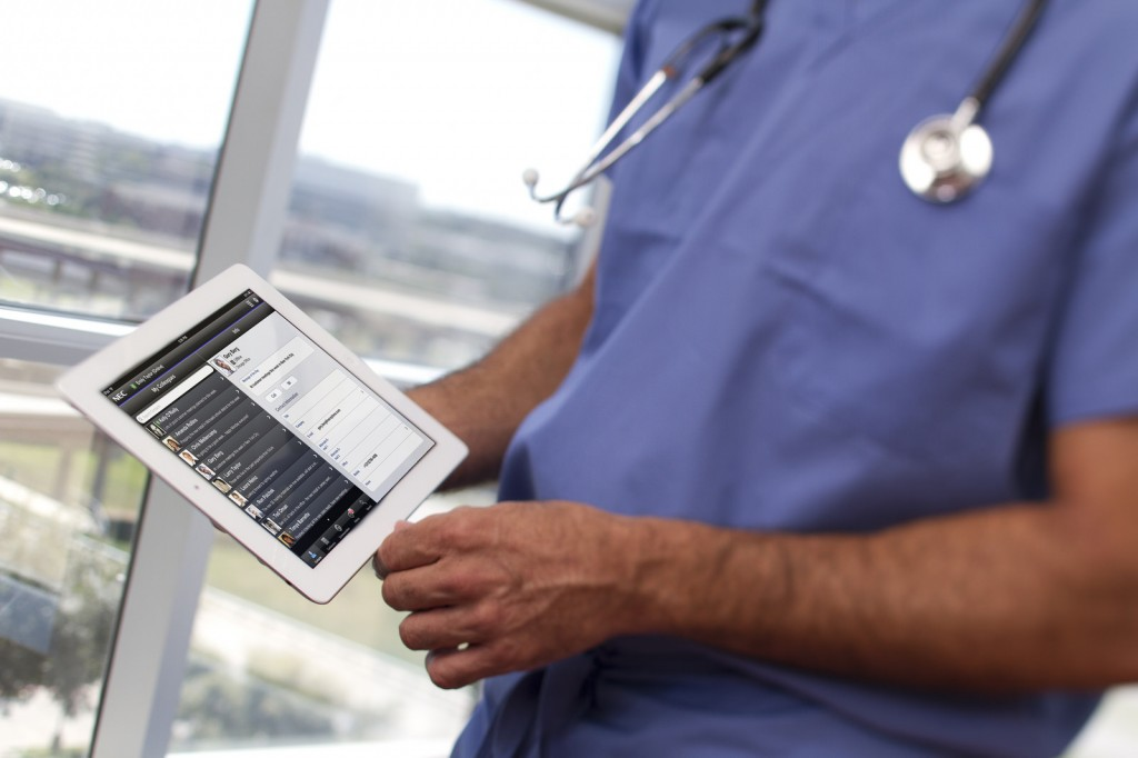 Healthcare providers increasingly use electronic medical records and other large data sets to understand patient responses to treatment over time. (NEC Corporation of America)