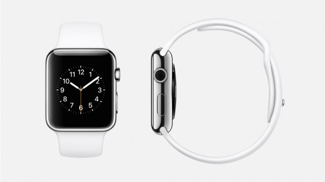 The Apple Watch marks Apple's first foray into smart watches and digital health. (Apple)